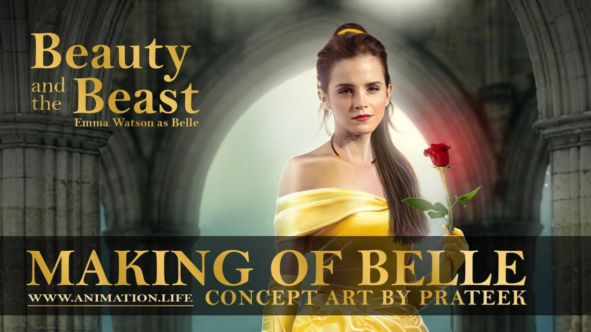 Making of beauty and the beast 2017