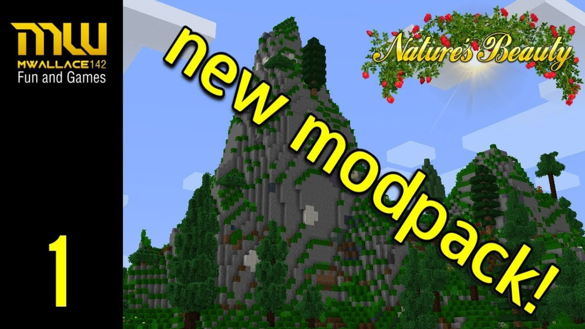 Nature's beauty modpack