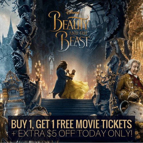 Pre order beauty and the beast tickets