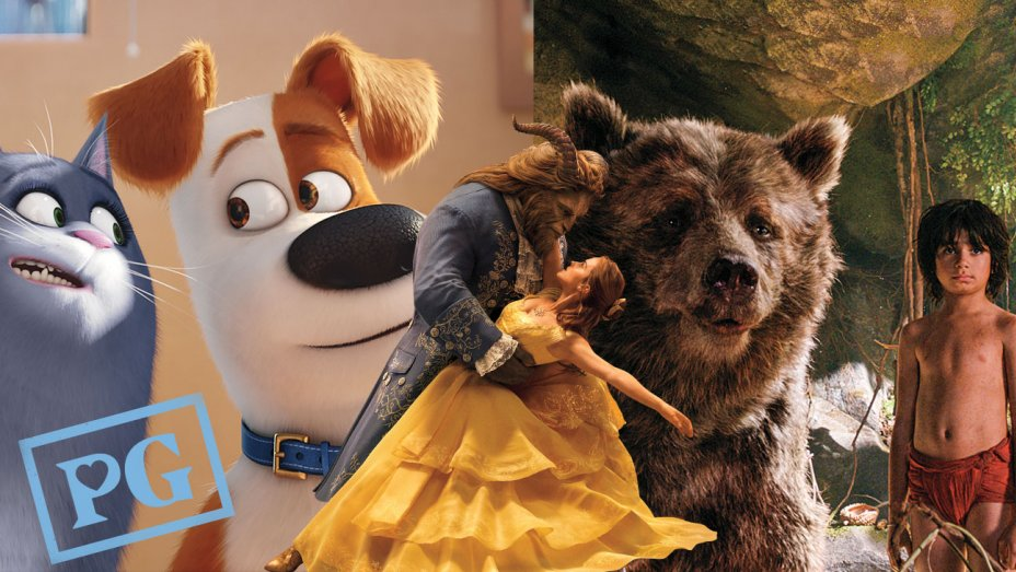 Beauty and the Beast, I 2017 MPAA, Rated PG for some action violence, …
