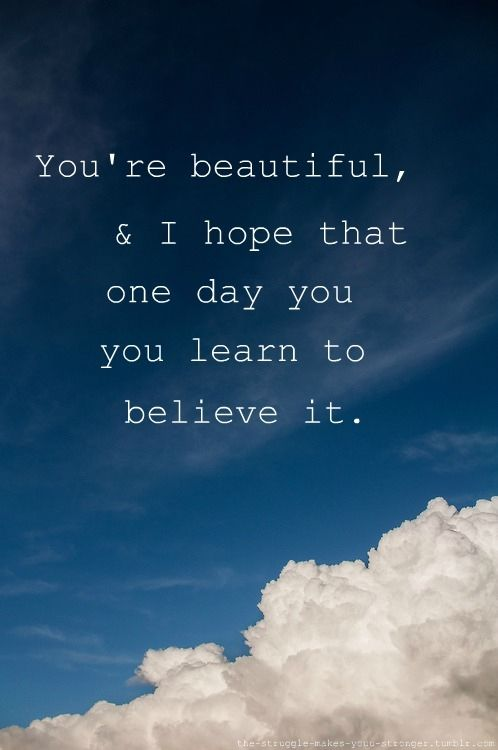 Your beauty quote